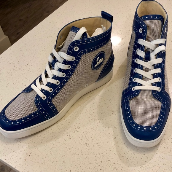 online store 6570d 89463 Christian Louboutin Fleuro Flat Calf Sneakers